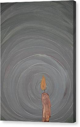 Candlelight 9 Canvas Print by Jonathan Kotinek