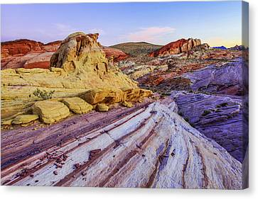 Candy Cane Desert Canvas Print by Chad Dutson