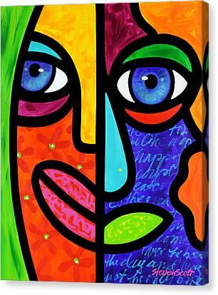 Candy Dandee Canvas Print by Steven Scott