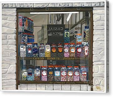 Candy Shoppe Canvas Print by Jiji Lee