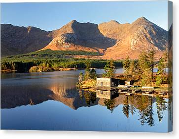 Canoe Club In Connemara Ireland Canvas Print by Pierre Leclerc Photography