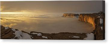 Canyonlands Grand View Canvas Print by Dustin  LeFevre
