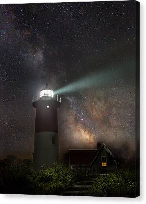 Cape Cod Celestial Outpost Canvas Print by Bill Wakeley