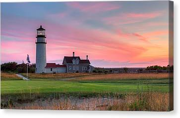 Cape Cod Highland Links Canvas Print by Bill Wakeley