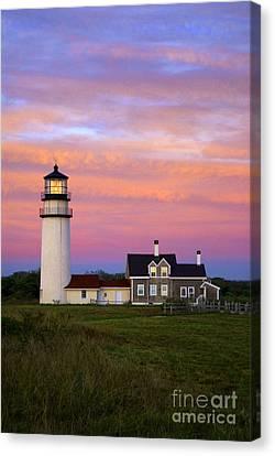 Cape Cod Light Truro Canvas Print by John Greim