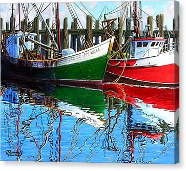 Cape Cod Paintings  Canvas Print by Michael Cranford