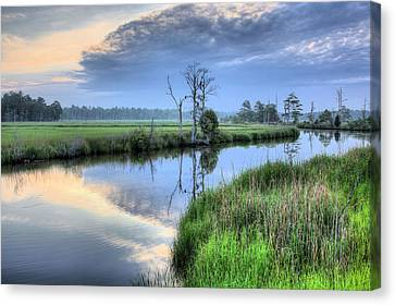Cape Fear Morning Canvas Print by JC Findley
