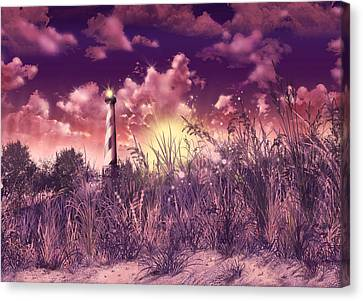 Cape Hatteras Lighthouse Canvas Print by Bekim Art