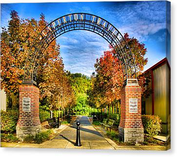 Caperton Trail Canvas Print by Steven Ainsworth