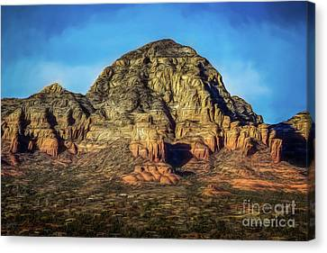 Capital Butte Canvas Print by Jon Burch Photography