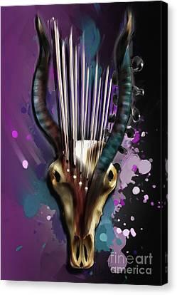 Capricorn Canvas Print by Melanie D