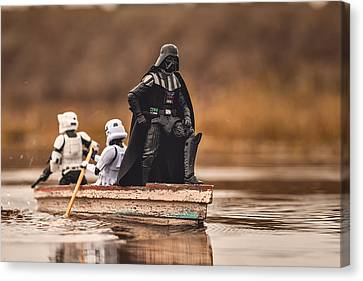 Captain Vader Canvas Print by Matt Ferris