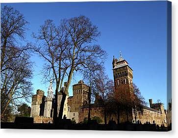 Cardiff Castle Wales Canvas Print by James Brunker