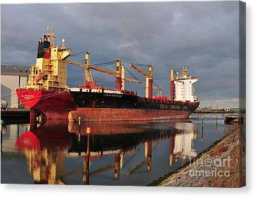 Cargo Fleet Canvas Print by Stephen Smith