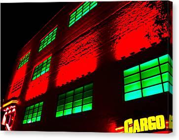 Cargo Hold Canvas Print by Craig David Morrison