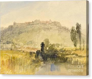 Carisbrooke Castle Canvas Print by Joseph Mallord William Turner