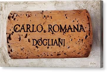 Carlo Romana Dogliani Canvas Print by Danka Weitzen