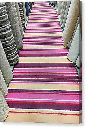 Carpet Store Canvas Print by Tom Gowanlock