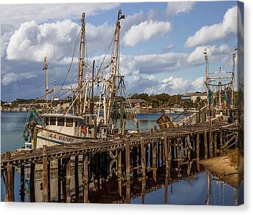 Carrabelle Harbor Canvas Print by Capt Gerry Hare
