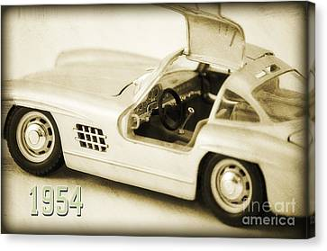 Cars 1954 II Canvas Print by Angela Doelling AD DESIGN Photo and PhotoArt