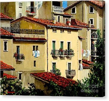 Casa Del Sol Canvas Print by Michael Swanson