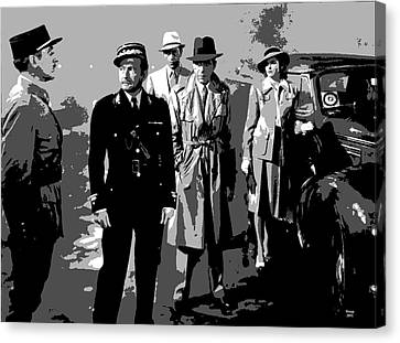 Casablanca Canvas Print by Charles Shoup