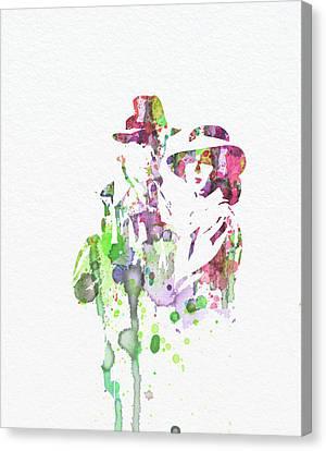 Casablanca Canvas Print by Naxart Studio