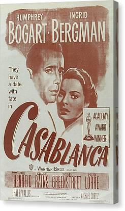 Casablanca Canvas Print by Georgia Fowler