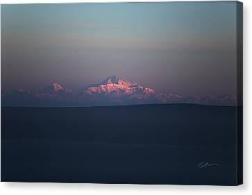 Cascade Canvas Print by Ed Boudreau