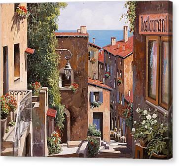 casette a Cagnes Canvas Print by Guido Borelli