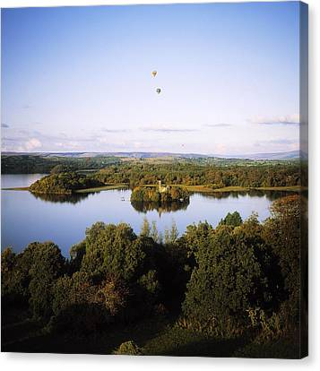 Castleisland Lough Key Forest Park Canvas Print by The Irish Image Collection