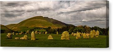 Castlerigg Stone Circle Canvas Print by John Collier