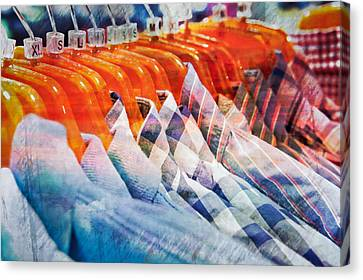 Casual Shirts Canvas Print by Tom Gowanlock