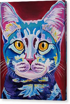 Cat - Mystery Reboot Canvas Print by Alicia VanNoy Call