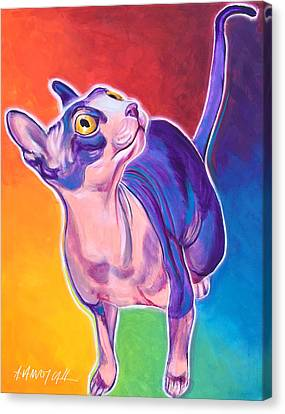 Cat - Bree Canvas Print by Alicia VanNoy Call