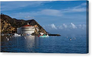 Catalina Island Casino Canvas Print by Mountain Dreams