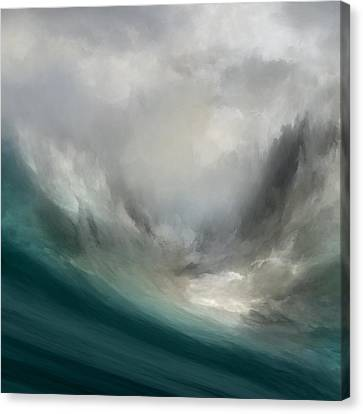 Catching Waves Canvas Print by Lonnie Christopher