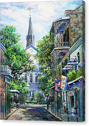 Cathedral At Orleans Canvas Print by Dianne Parks