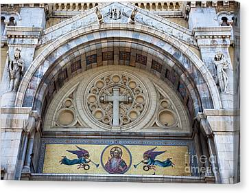 Cathedral Of St Vincent De Paul IIi Canvas Print by Irene Abdou