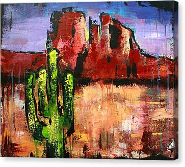 Cathedral Rock Canvas Print by Kayla Mallen