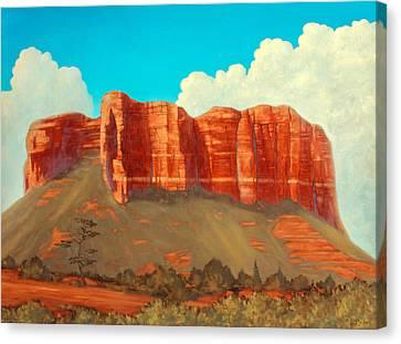 Cathedral Rock, Sedona, Arizona Canvas Print by James Zeger