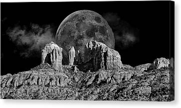 Cathedral Votex Canvas Print by John Michael Kearney