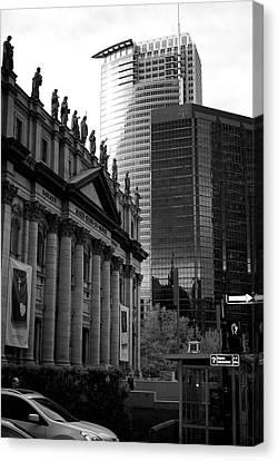 Cathedrale Marie-reine-du-monde Canvas Print by Lisa Knechtel