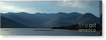Catskill Mountains Panorama Photograph Canvas Print by Kristen Fox