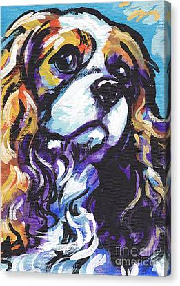 Cavalier King Charles Spaniel Canvas Print by Lea S