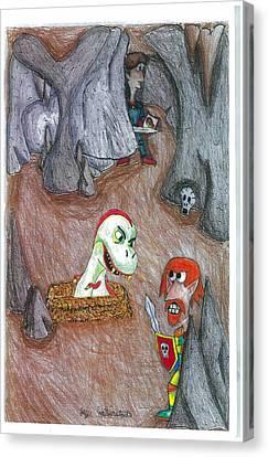 Cave Canvas Print by Jayson Halberstadt