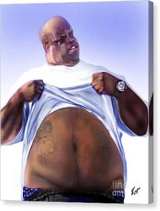 Cee Lo Green-the Day I Lost My Mind Canvas Print by Reggie Duffie