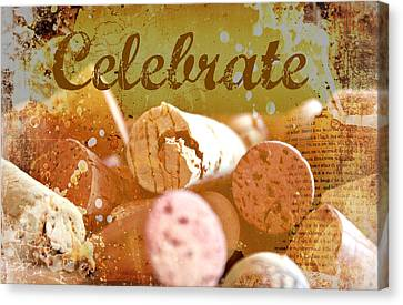 Celebrate Canvas Print by Cathie Tyler