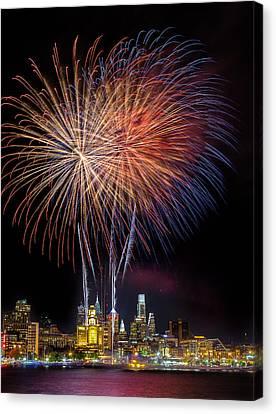 Celebrate Independence  Canvas Print by Jason Gambone