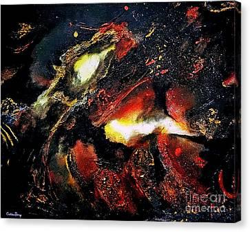 Celestial Canvas Print by Callan Percy